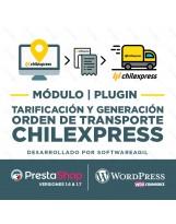 Módulo Chilexpress Zonas, Costos y Generación de Orden de Transporte