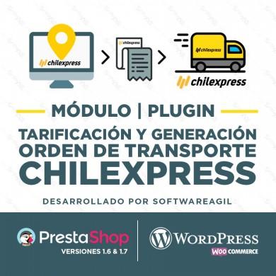 Módulo de Integración transportista Chilexpress para generación online de Ordenes de Transporte
