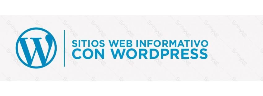 Sitio Web Informativo con Wordpress